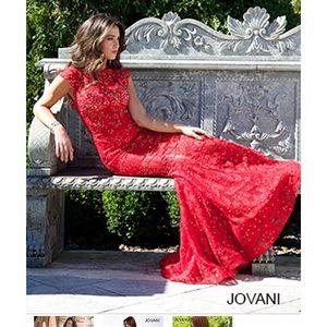 Jovani size 0 lace prom dress 90676